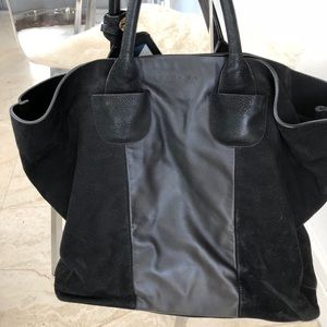 44e715a2fb Carven Suede and Leather Bag